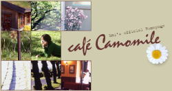 藤田恵美HP〜cafe camomile
